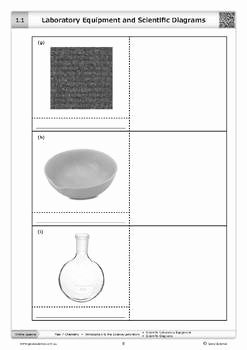 Lab Equipment Worksheet Answers Inspirational Laboratory Equipment and Scientific Diagrams [worksheet]
