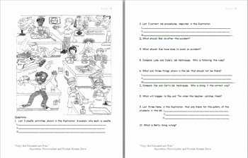 Lab Safety Worksheet Answer Key Elegant Lab Safety Cartoon Worksheet Answer Key Cartoon On Lab