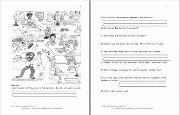 Lab Safety Worksheet Answer Key Elegant Lab Safety Cartoon Worksheet Answer Key Cartoon On Lab