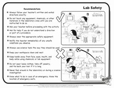 Lab Safety Worksheet Pdf Beautiful 1000 Images About Lab Safety On Pinterest