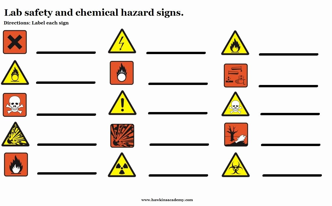 Lab Safety Worksheet Pdf Fresh Safety Symbols Worksheet Google Search