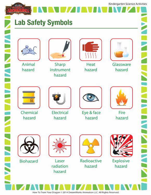 Lab Safety Worksheet Pdf Inspirational Lab Safety Symbols Worksheet – Middle School Printable – sod