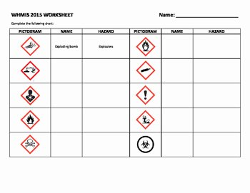 Lab Safety Worksheet Pdf Unique Whmis 2015 Activity Pack Lab Safety by Doris Cheung
