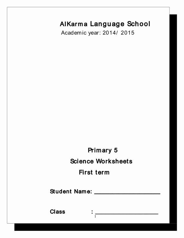 Language Of Science Worksheet Elegant 2 Science Worksheets P5 2015