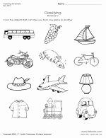 Language Of Science Worksheet Elegant Kindergarten Transportation Classifying Worksheet 3