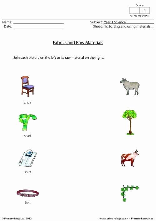 Language Of Science Worksheet Elegant Material Worksheets Year 1 Using Material soft Hard
