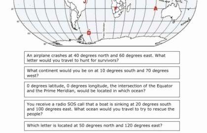 Latitude and Longitude Worksheet Answers Luxury 21 Lovely Latitude and Longitude Worksheet Answers