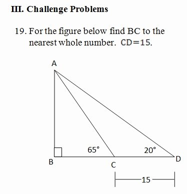Law Of Sines Worksheet Answers Elegant Law Of Sines Worksheet Pdf with Answer Key and Model