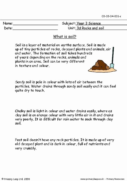 Layers Of soil Worksheet Beautiful What is soil