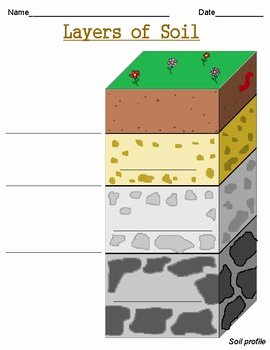 Layers Of soil Worksheet Best Of Layers Of soil Worksheets by Growing Roots and Building