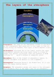 Layers Of the atmosphere Worksheet Best Of English Worksheets atmosphere Layers