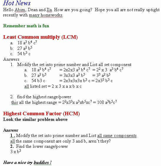 Lcm and Gcf Worksheet Best Of Gcf and Lcm Worksheet