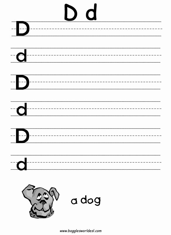 Letter D Worksheet for Preschool Best Of Letter D Worksheets for Preschool Google Search