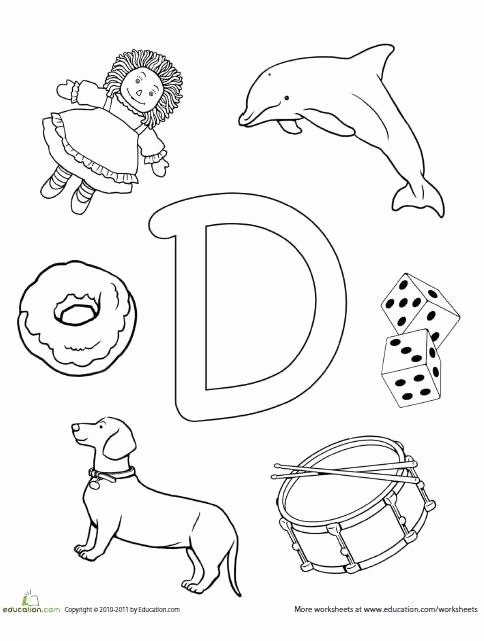 Letter D Worksheet for Preschool Inspirational 7 Best Letter L Worksheets Images On Pinterest