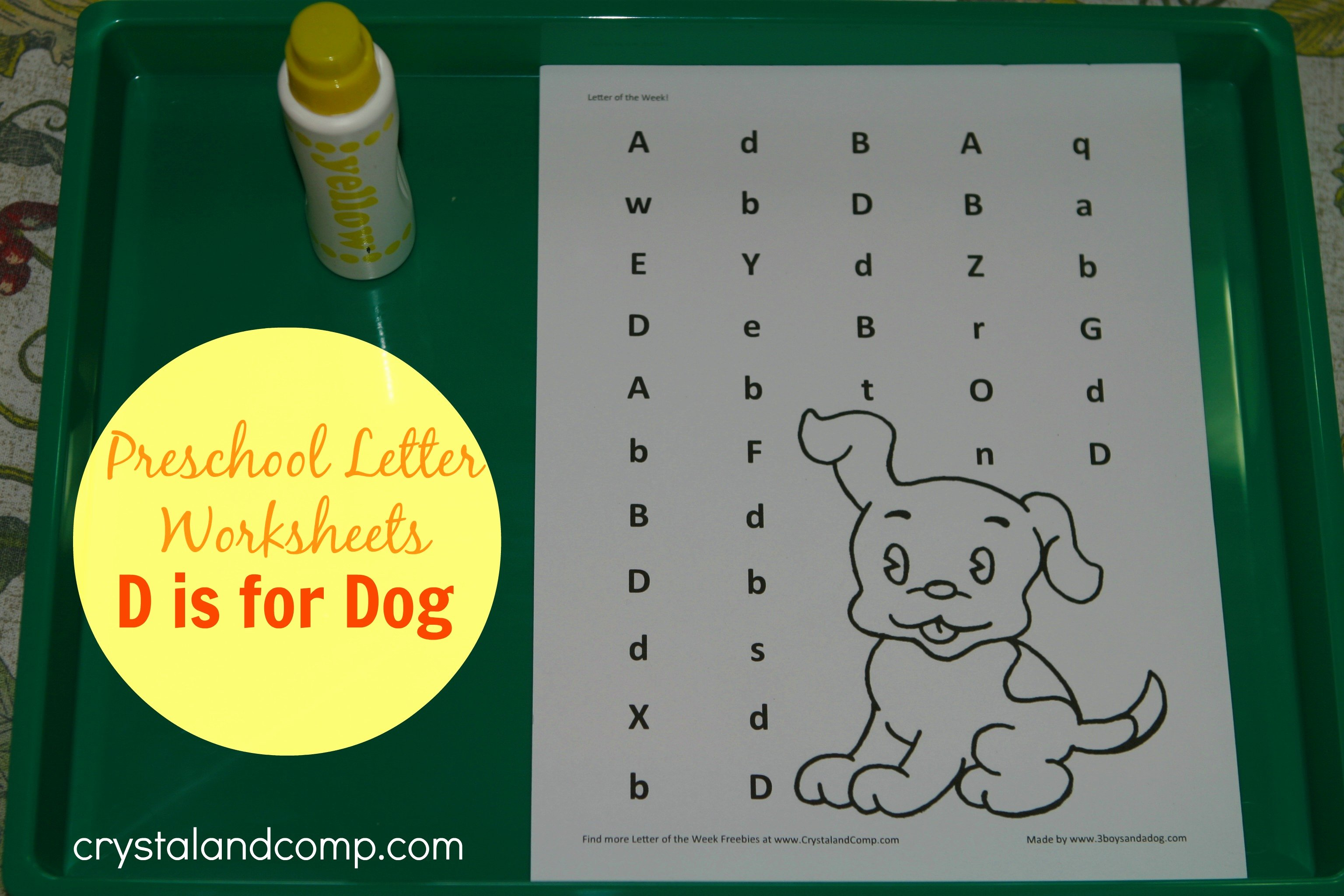 Letter D Worksheet for Preschool Lovely Preschool Letter Worksheets Letter D