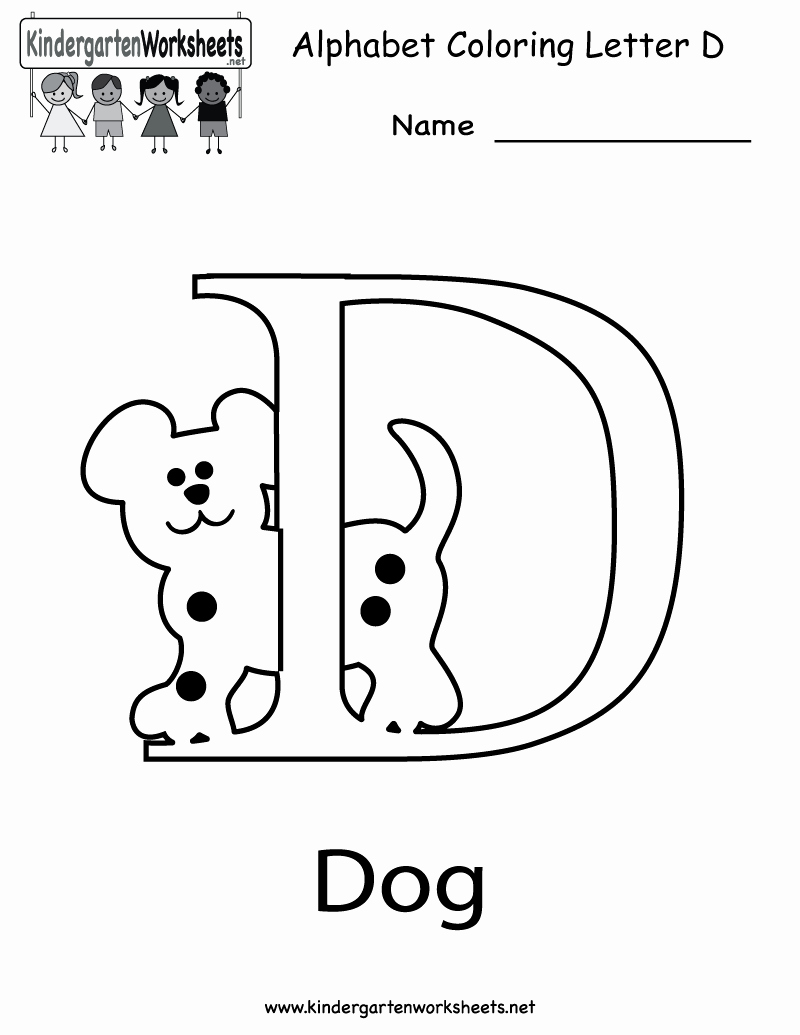 Letter D Worksheet for Preschool Lovely Printable Letter Worksheets for Every Letters Of the