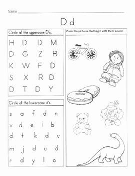 Letter D Worksheet for Preschool Unique 17 Best Images About Letter D Worksheets On Pinterest