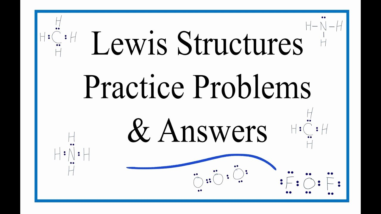 Lewis Dot Structure Worksheet Answers Elegant Lewis Dot Structure Worksheet with Answers General