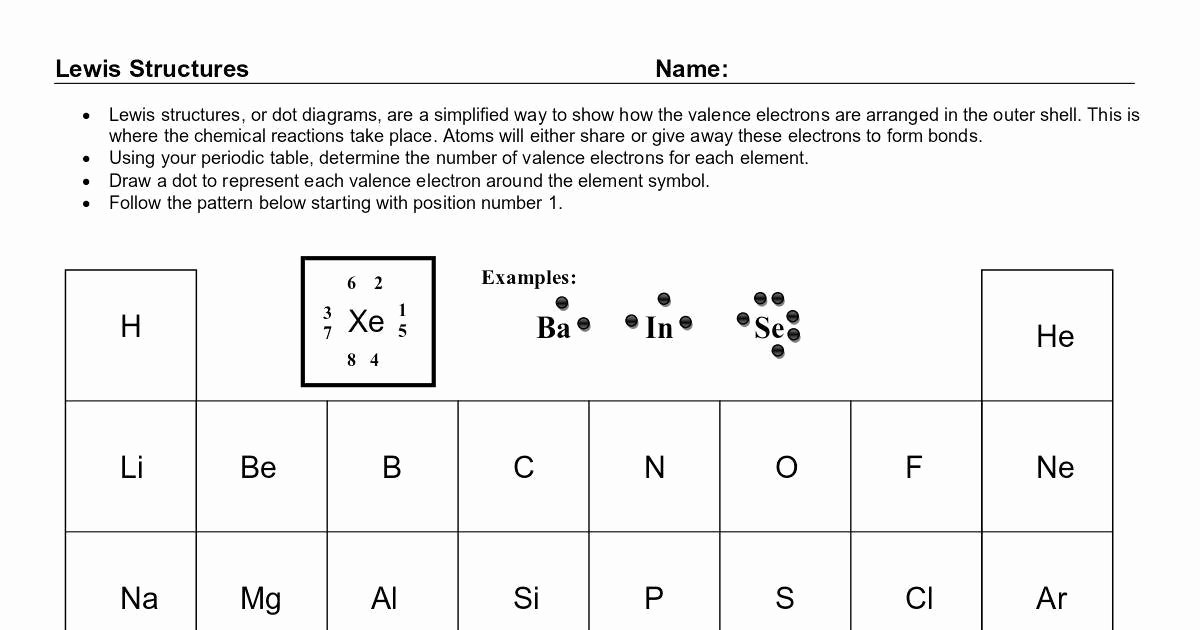 Lewis Structure Worksheet with Answers Best Of Lewis Structure Practice 2