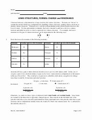 Lewis Structure Worksheet with Answers Best Of Valence Electrons and Lewis Dot Structure Worksheet