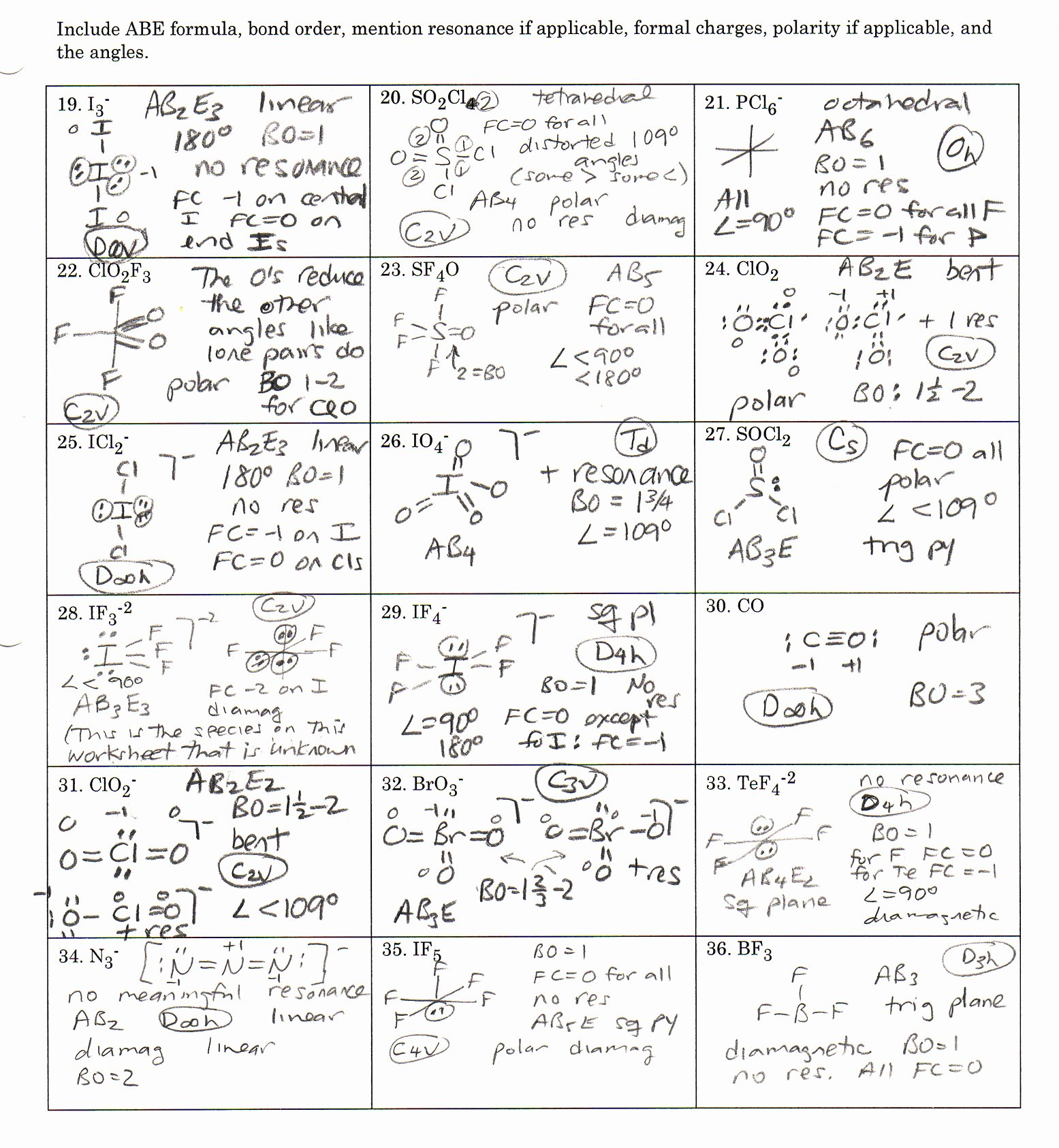 Lewis Structure Worksheet with Answers Inspirational Lewis Dot Structure Worksheet with Answers Worksheets