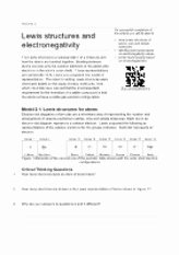 Lewis Structure Worksheet with Answers Luxury Valence Electrons and Lewis Dot Structure Worksheet