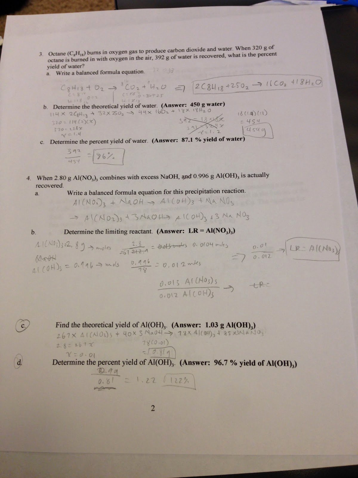 Limiting Reactant Worksheet Answers Best Of 123 Worksheet Limiting Reactant and Percent Yield