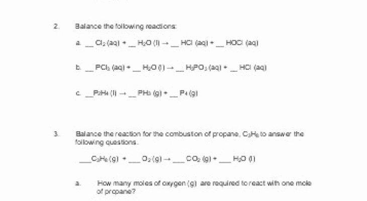 Limiting Reactant Worksheet Answers Elegant Limiting Reagent Worksheet Answers