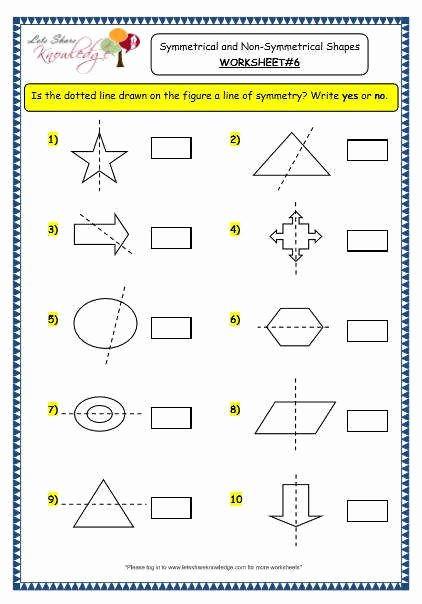 Line Of Symmetry Worksheet Awesome Lines Symmetry Worksheet
