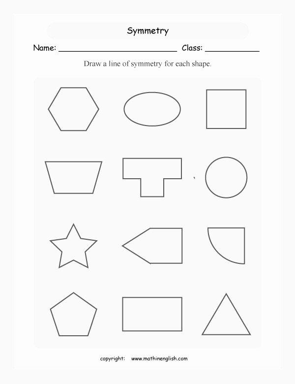 Line Of Symmetry Worksheet Best Of 25 Best Ideas About Symmetry Worksheets On Pinterest