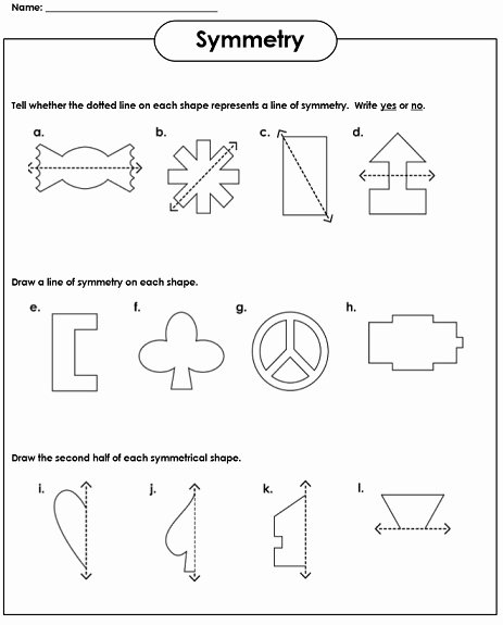 Line Of Symmetry Worksheet Best Of Symmetry Worksheets