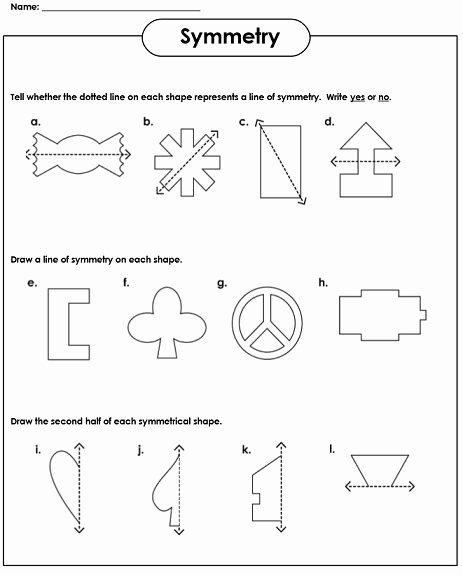 Line Of Symmetry Worksheet Best Of Symmetry Worksheets