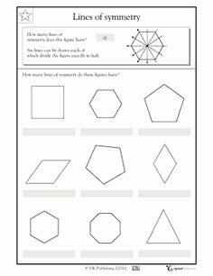 Line Of Symmetry Worksheet Elegant 1000 Images About Flip Slide Turn Symmetry On Pinterest