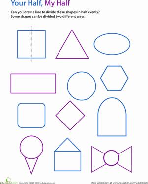 Line Of Symmetry Worksheet Inspirational Draw the Line Of Symmetry Worksheet