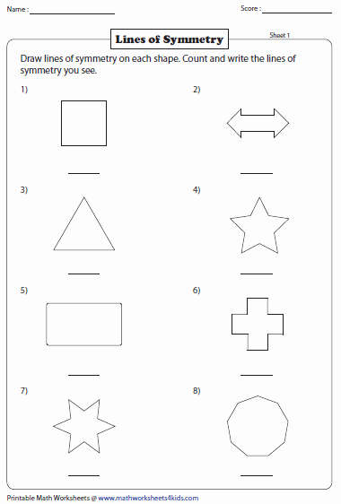 Line Of Symmetry Worksheet Lovely Symmetry Worksheets