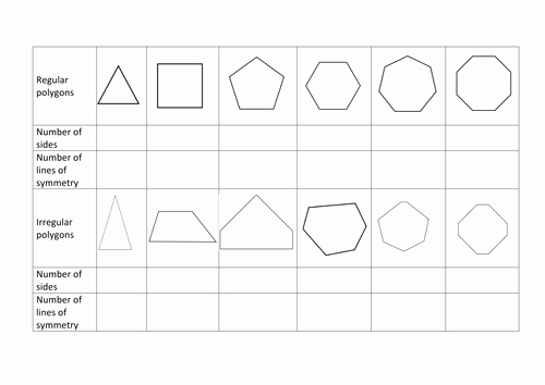 Line Of Symmetry Worksheet Unique Lines Of Symmetry Investigation by Rachdf