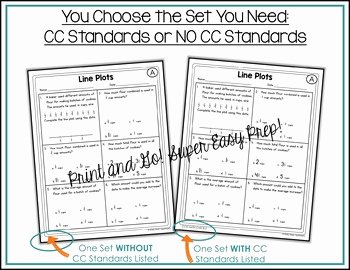 Line Plots with Fractions Worksheet Best Of Line Plots with Fractions Worksheets by Shelly Rees