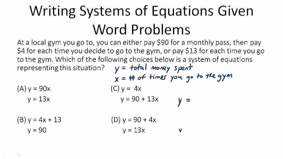 Linear Equation Word Problems Worksheet Beautiful Linear Equation Word Problems Worksheet