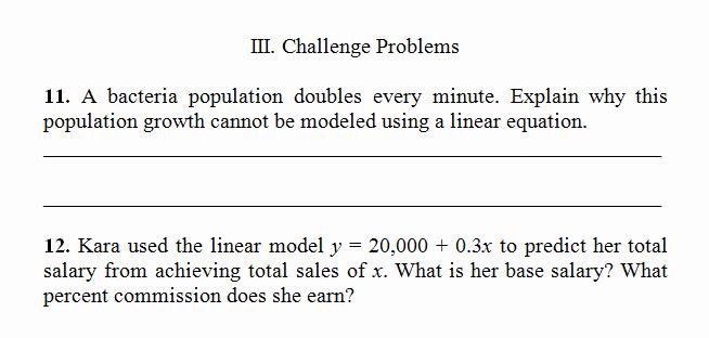 Linear Equation Worksheet Pdf Luxury Linear Equation Word Problems Worksheet Pdf and Answer
