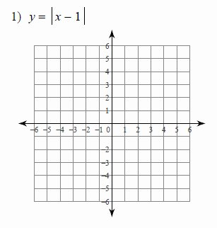 Linear Equations and Inequalities Worksheet New Graphing Absolute Value Equations Worksheets