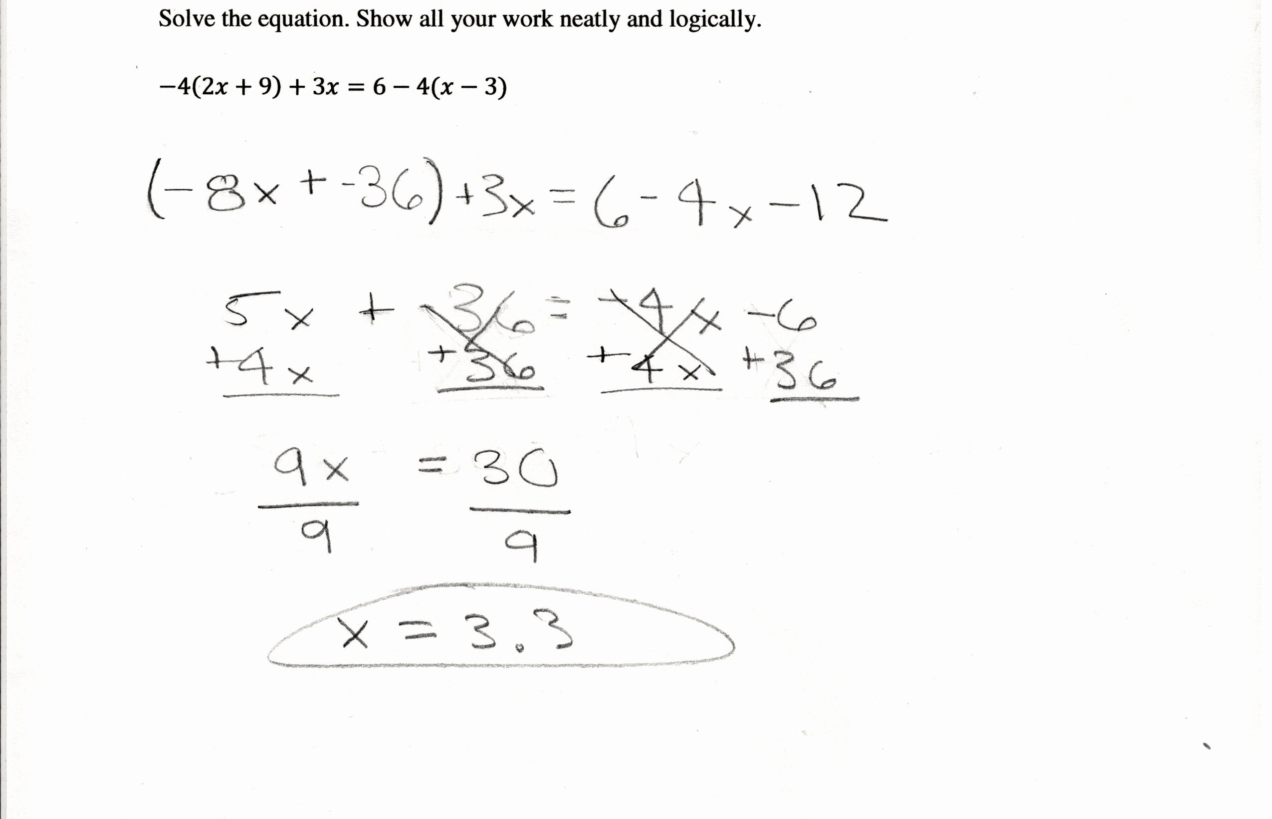 Linear Equations Worksheet Pdf Lovely Linear Equations In E Variable Worksheets for Class 8
