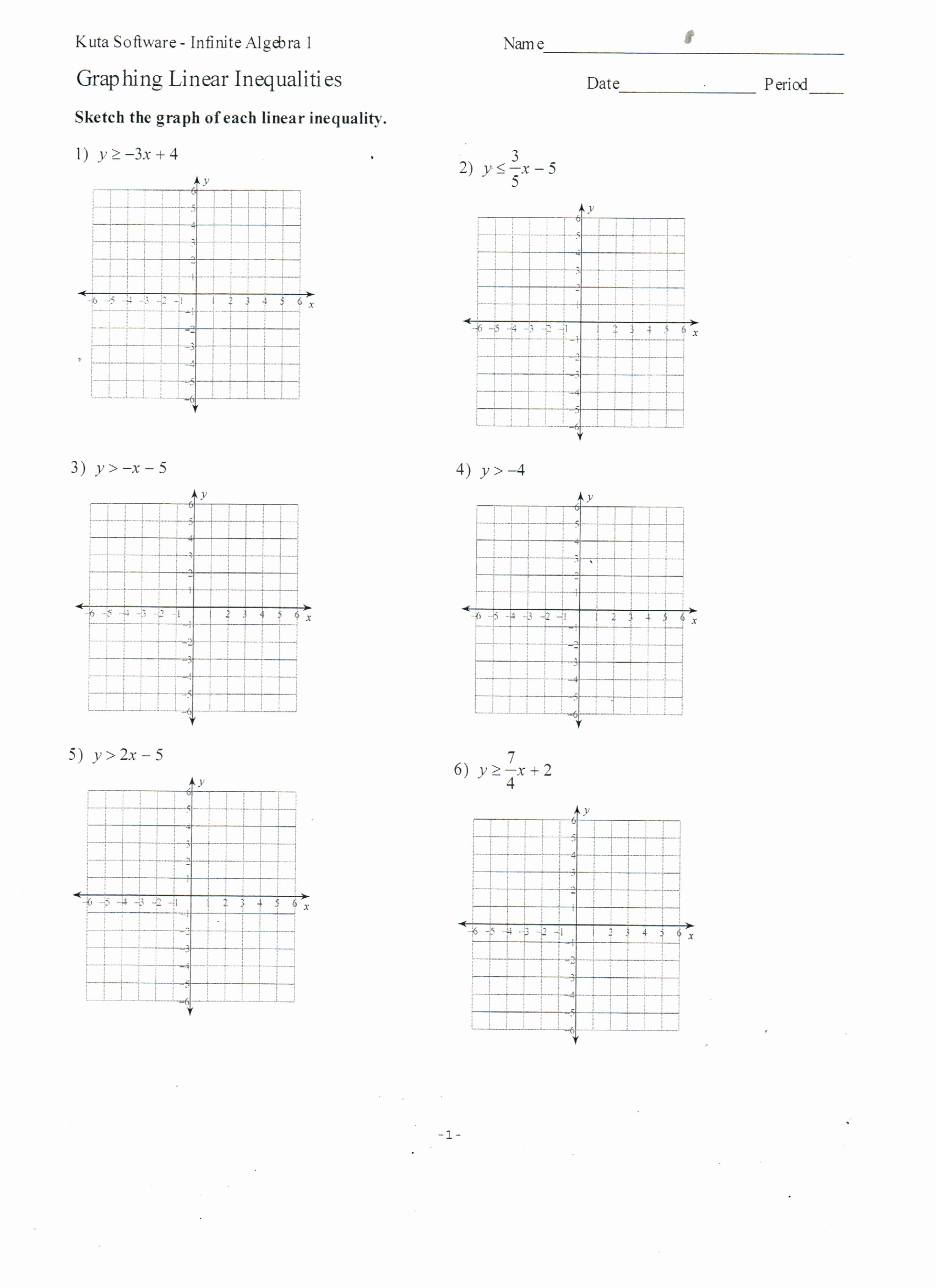Linear Equations Worksheet with Answers Unique Graphing Linear Equations Worksheet and Answers Tessshebaylo