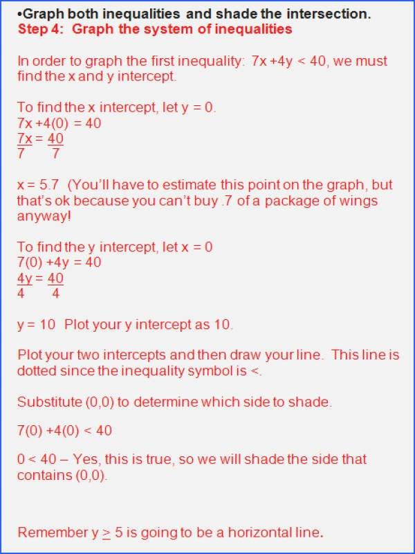 Linear Inequalities Word Problems Worksheet Lovely solving and Graphing Inequalities Worksheet Answer Key