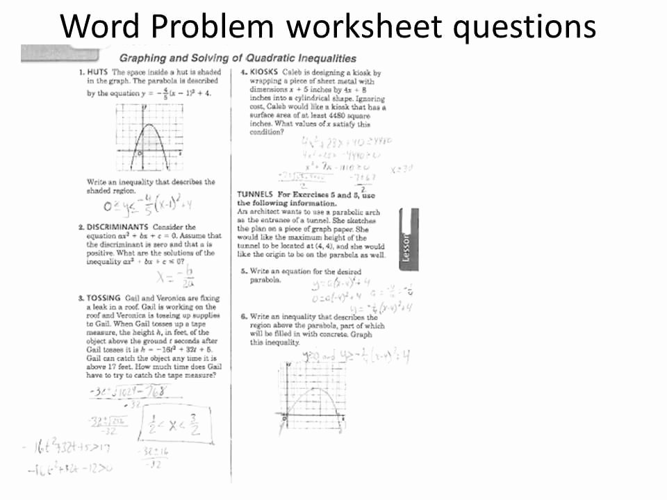 Linear Quadratic Systems Worksheet Lovely Systems Linear Quadratic Equations Worksheet – Festival