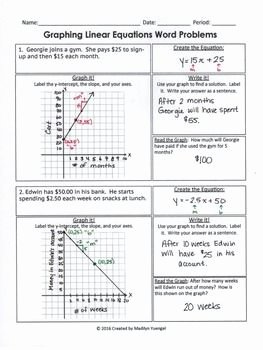 Linear Word Problems Worksheet New Systems Linear Equations Word Problems Worksheet