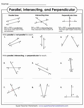 Lines and Angles Worksheet Awesome Lines Line Segments Rays Geometry Worksheets