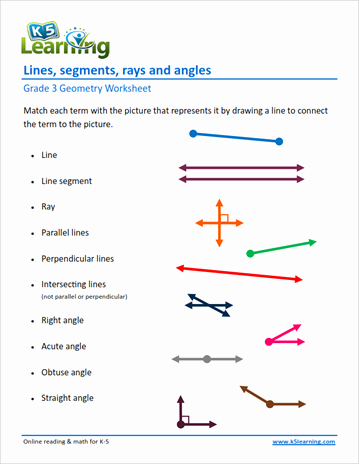 Lines and Angles Worksheet Beautiful 3rd Grade Geometry Worksheets