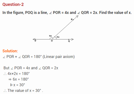 Lines and Angles Worksheet New Lines and Angles Class 9 Extra Questions Maths Chapter 6