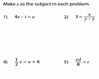 Literal Equations Worksheet Algebra 1 Lovely Rearranging Equations Worksheets