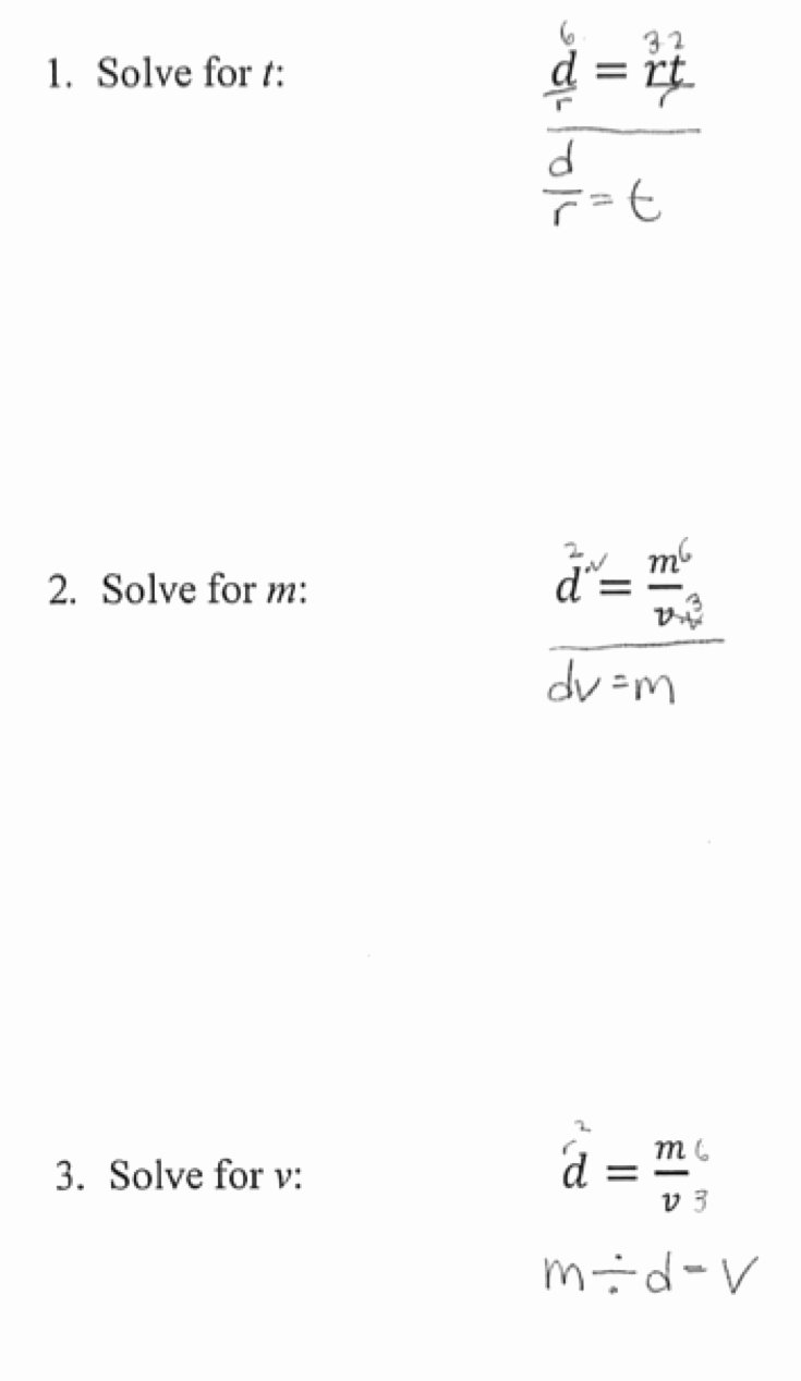 Literal Equations Worksheet Answer New Rearranging Equations Worksheet